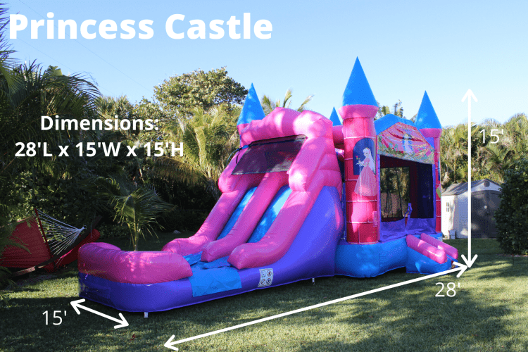Princess Castle (double lane) *(28L 15W 15H)