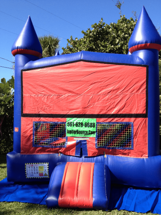 BOUNCE HOUSE 2 IN 1 (with hoops)