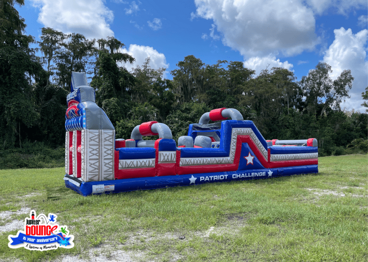 NEW 40' Patriot Challenge Obstacle Course